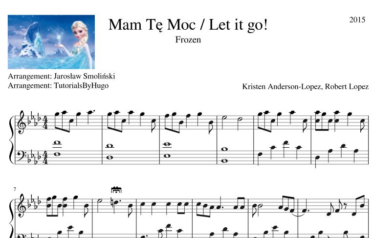 Piano Sheet Music Free Download Pdf Let It Go Piano Sheet Music
