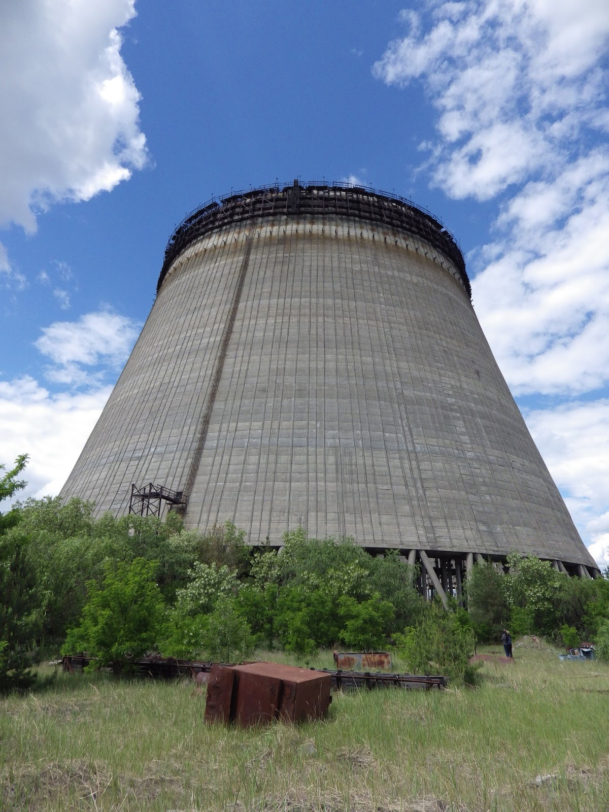 The view from inside a Nuclear Power Station Far Flung Places