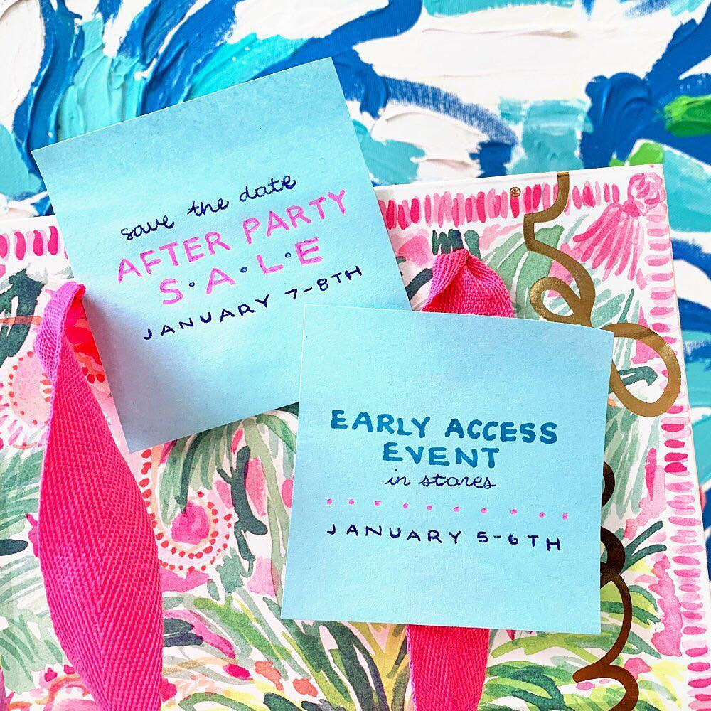 33b45d65ba When is the 2019 Lilly Pulitzer After Party Sale  January Dates ...