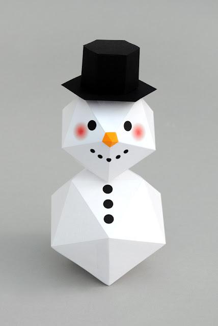 Người tuyết đội nón