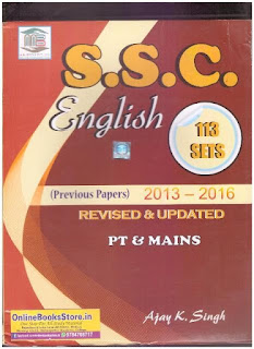 Download MB Publication English Book for SSC All 2016 Question Paper with Solution