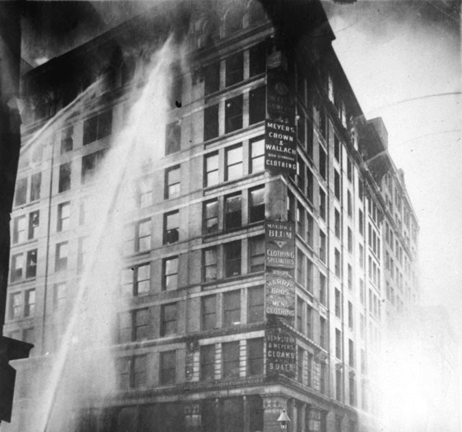 Ad Orientem 100 Years Ago Triangle Shirtwaist Factory Fire