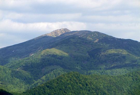 Najwyższy szczyt Małej Fatry - Wielki Krywań (słow. Veľký Kriváň, 1709 m n.p.m.).
