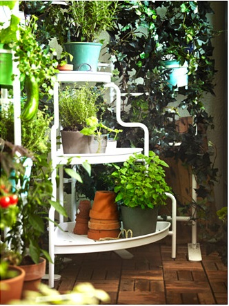 SOCKER plant stand from IKEA.