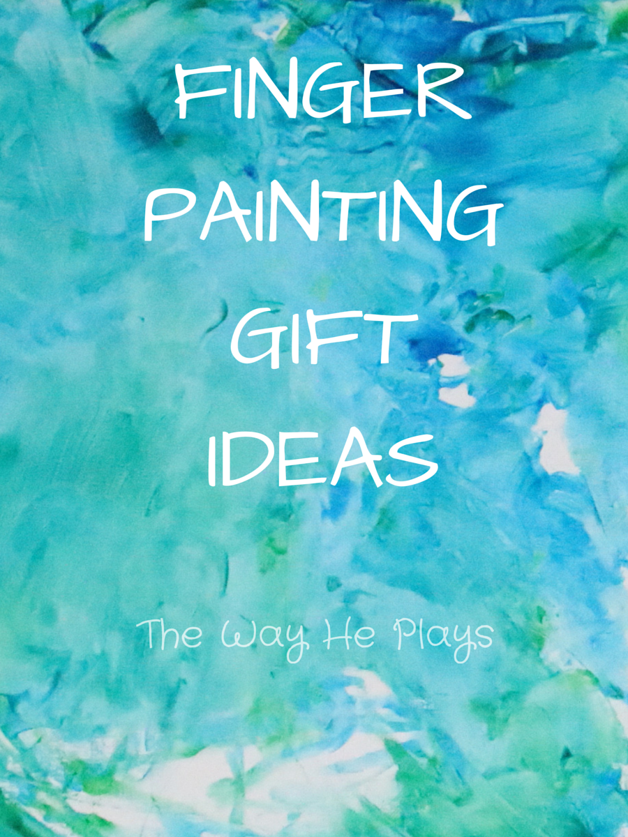 Finger painting gift ideas