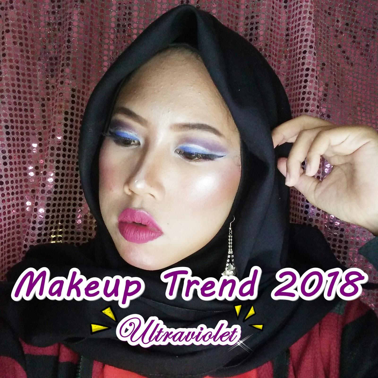 Trend Makeup Ultraviolet 2018