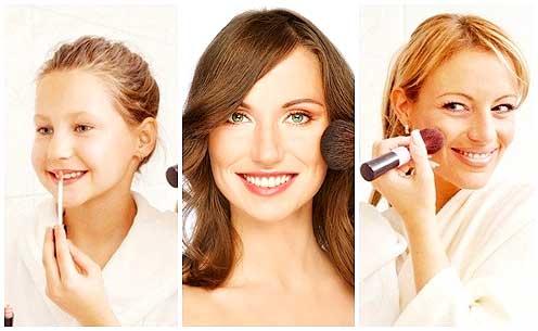 Como maquillarte según tu edad