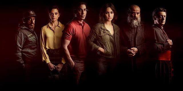 Eduard Fernández, Macarena Gómez, Miguel Ángel Silvestre, Megan Montaner, 30 Monedas, Serie