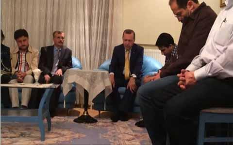 Video Erdogan/Presiden Turki Mengaji