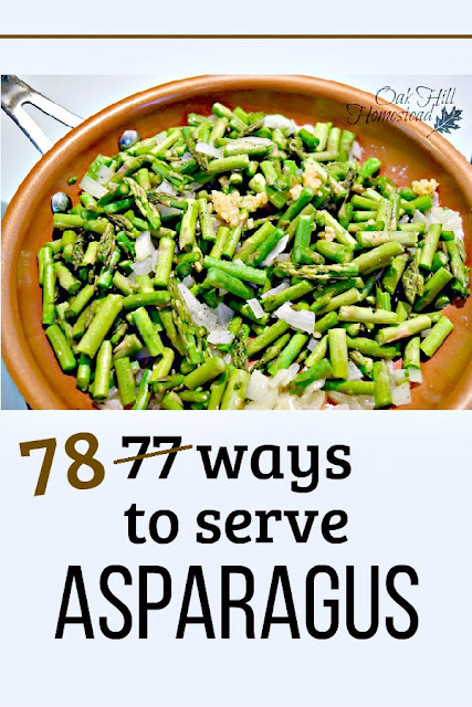 78 ways to serve asparagus