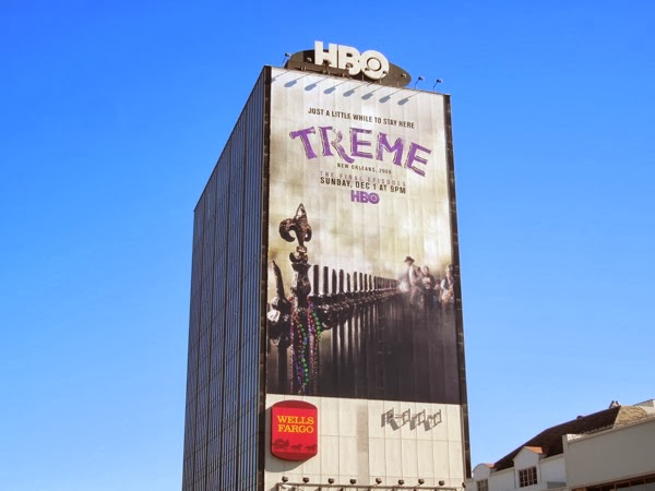 Giant Treme final season billboard