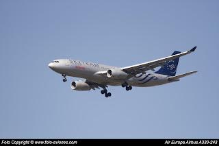 Avión Airbus A330 EC-LNH
