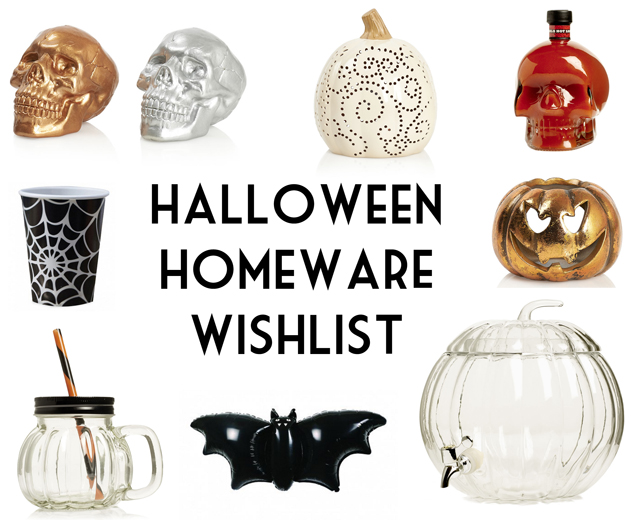 Halloween 2016 home accessories decorations homeware