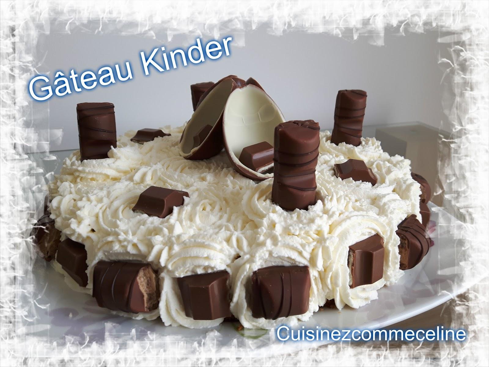 Gateaux kinder surprise - Gateau kinder bueno facile ...