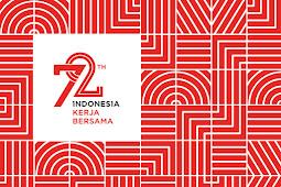 Download Logo Vector Resmi 72 Tahun Indonesia Kerja Bersama