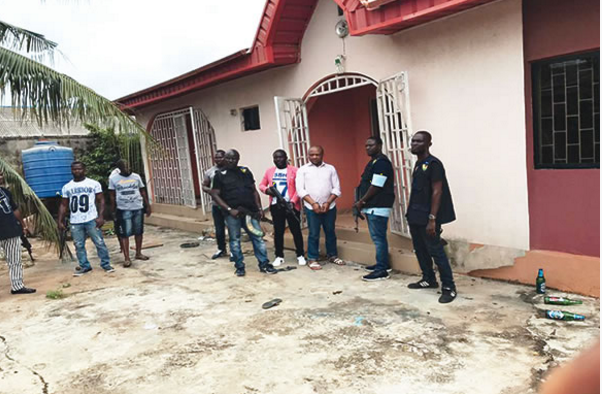 Evans leads police to two detention camps in Lagos