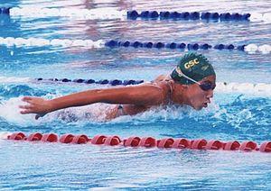 فريدة عثمان.. صاحبة أول ميدالية مصرية في بطولات العالم للسباحة