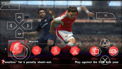 PES 2017 PPSSPP ISO By Army + Save Data Terbaru 2016 Gratis