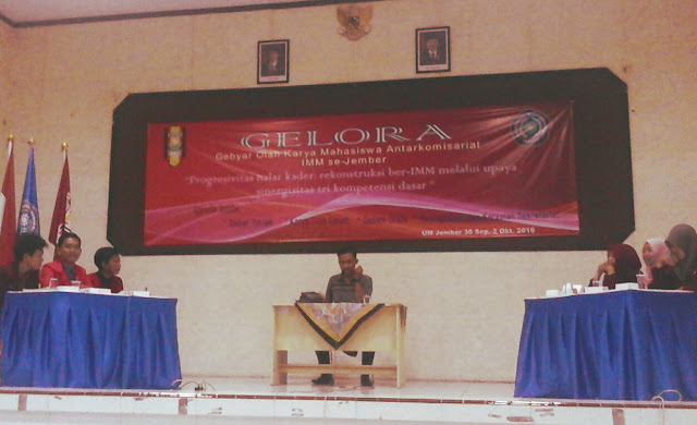 Lomba Debat Mahasiswa Muhammadiyah