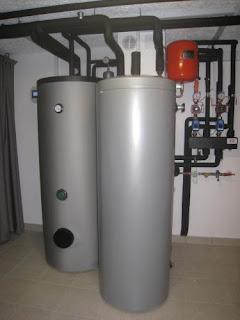 Toplotna črpalka zrak voda za ogrevanje