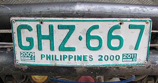 andere kennzeichen am auto