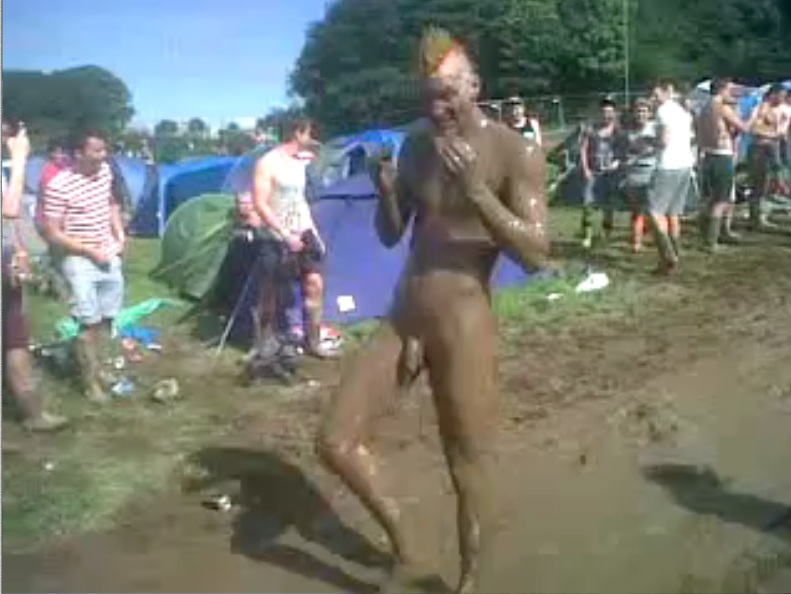 Valuable Fat naked girls mud fighting