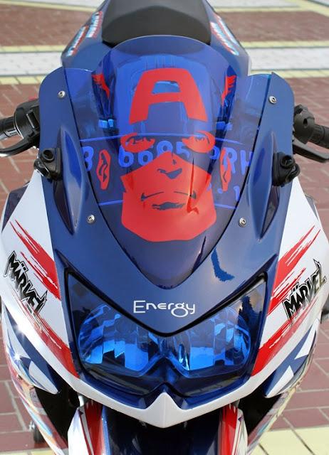 Kawasaki Ninja 250RAir Brush Modifikasi  Kumpulan