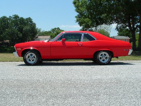 Chet's Classics: The '70 Nova is finished and up FOR SALE!