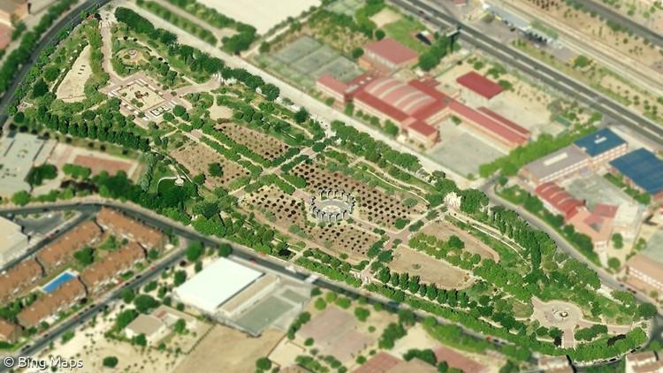 proyecto parque las comunidades alcorcon madrid bing maps