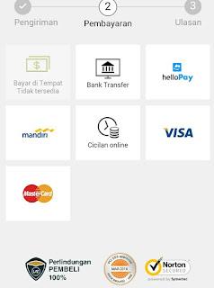 gambar 4 cara belanja di lazada dengan kartu kredit