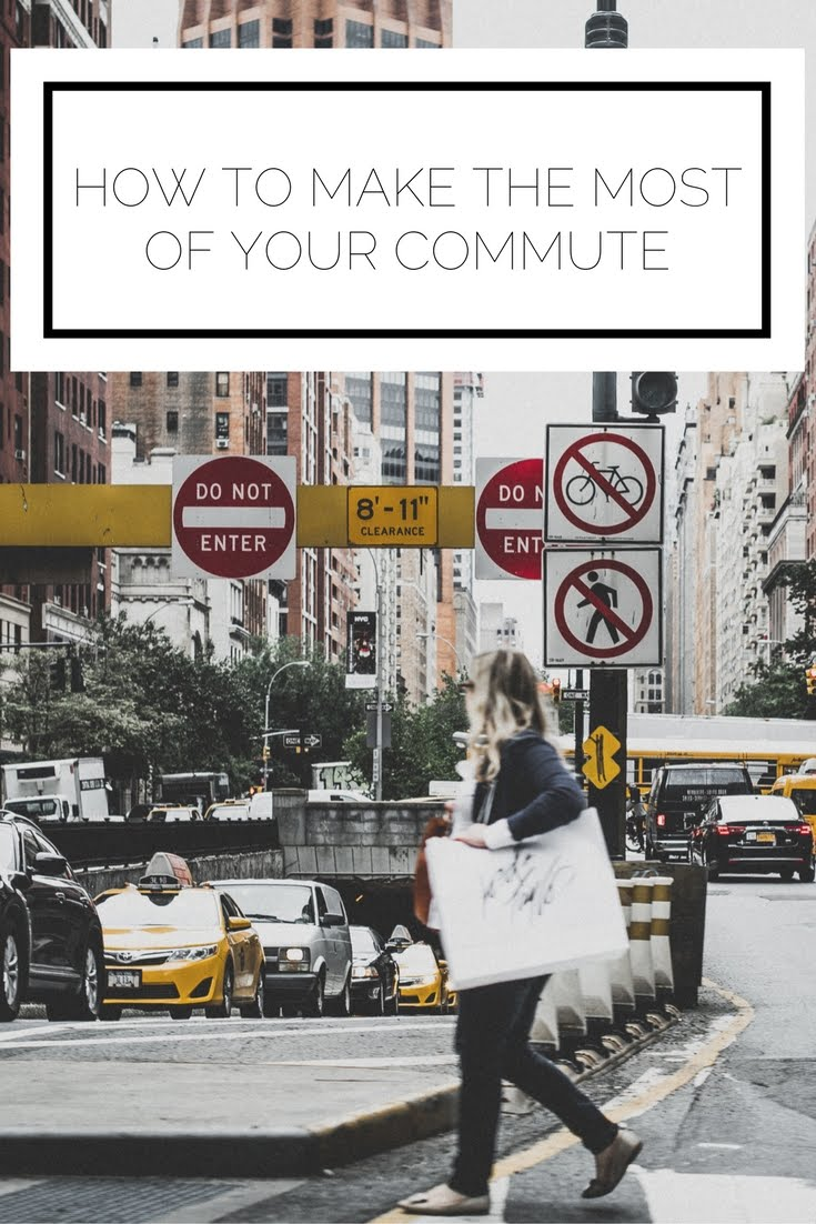 Click to read now, or pin to save for later! Are you stuck commuting (for a long or short period) and want to make the most of it? Here are some tips to maximize your time