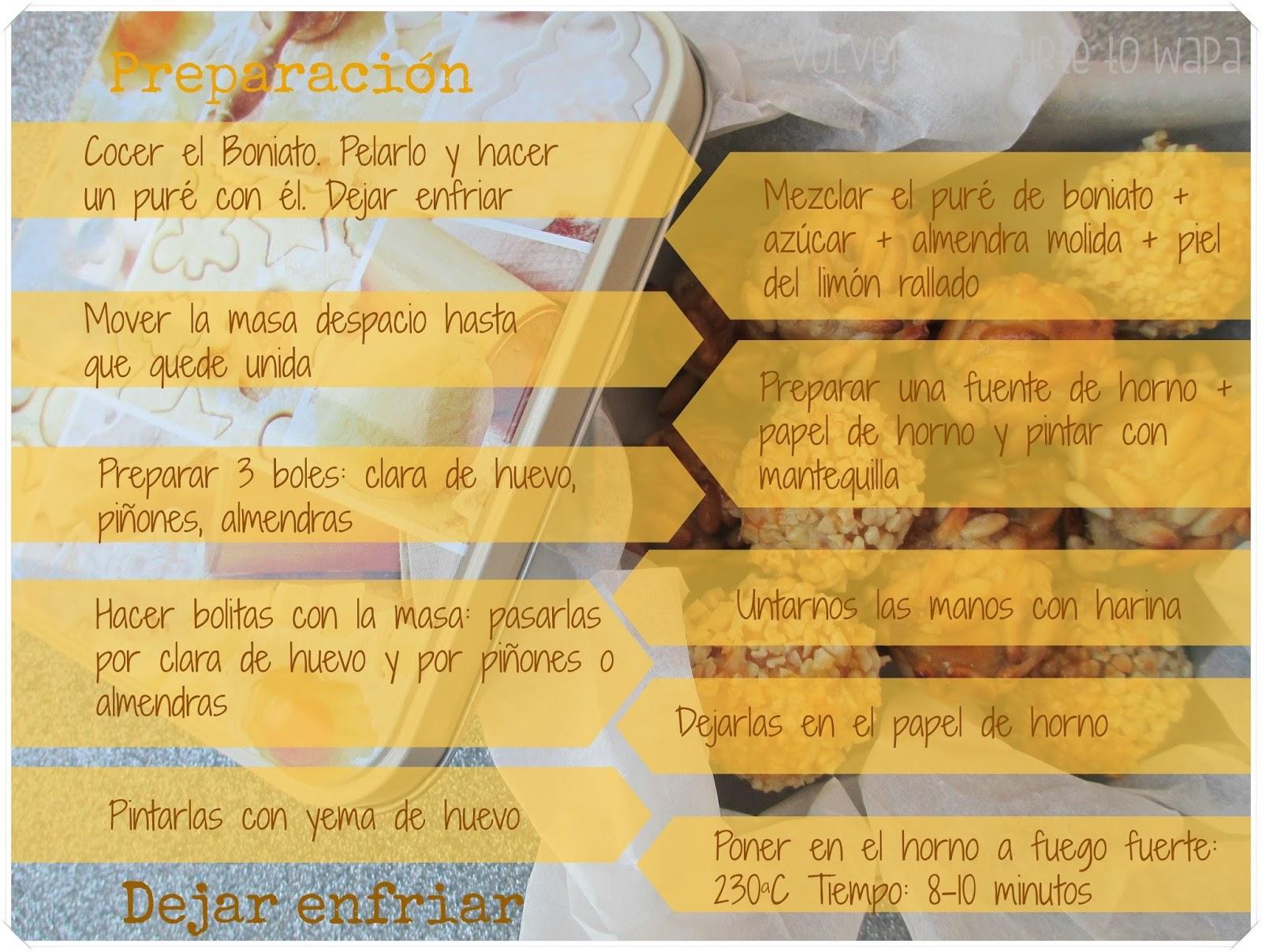 Receta: como hacer PANALLETS caseros de batata {paso a paso} - Preparación