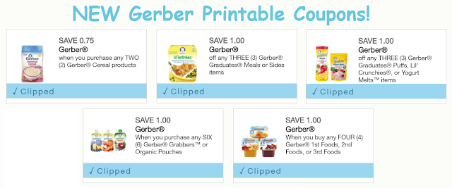 image regarding Gerber Printable Coupons known as Excessive Couponing Mommy: STOCKUP upon Gerber Little one Food stuff at Tops