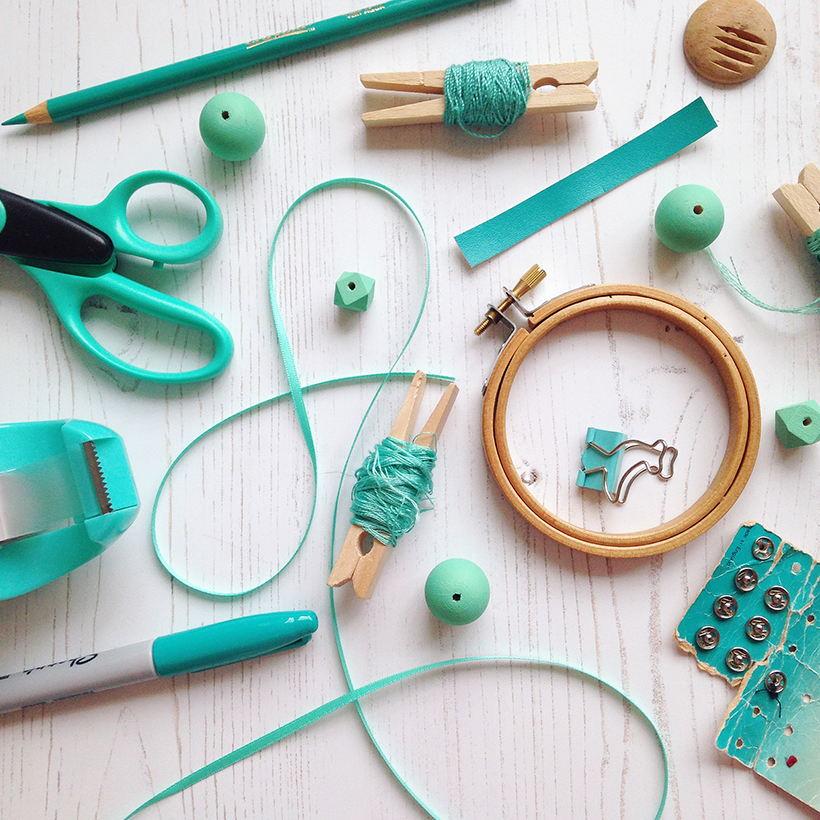 Flat lay photo by Joanna Payne, creative lifestyle blogger at Adventures & Tea Parties