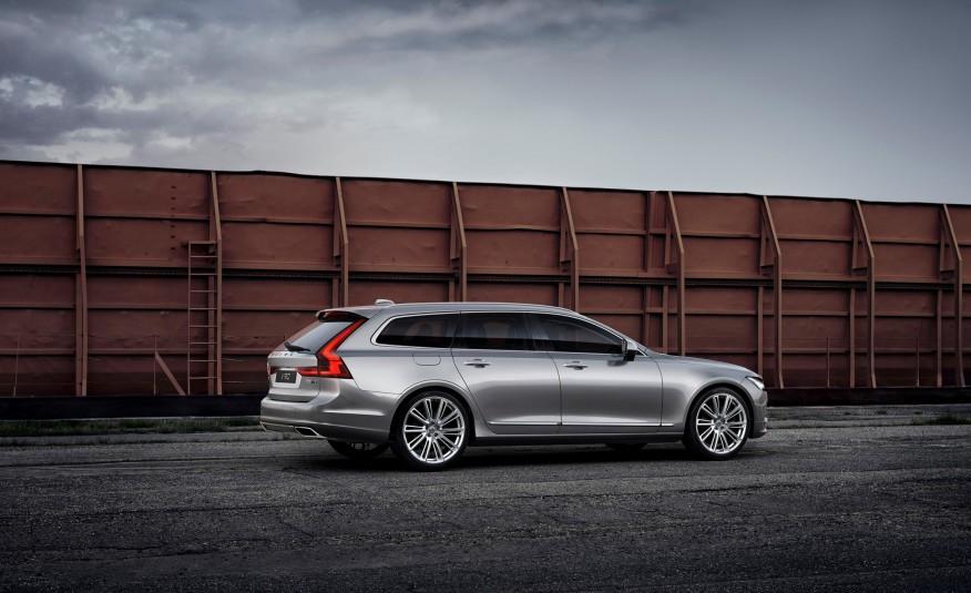 Volvo V90 2018 là một chiếc xe dài, rộng và thấp...tuy nhiên rất phá cách