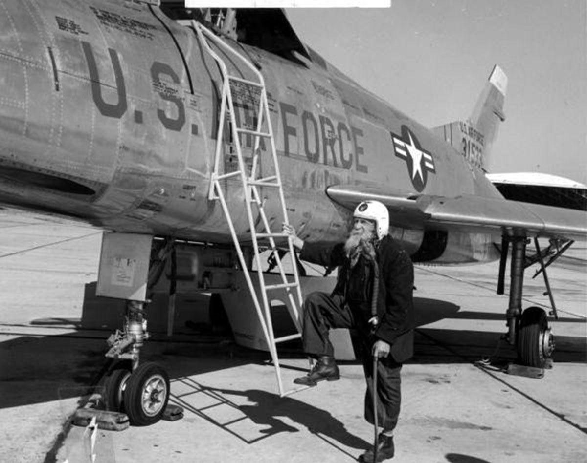 Civil War veteran fighter jet