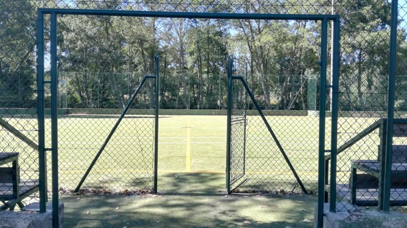 Acesso Campo de Futebol com relva Sintética
