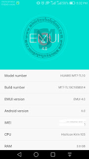 Download Huawei Mate7 TL10 Marshmallow B514 Firmware [Middle East]