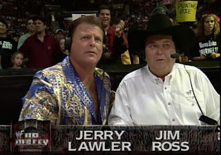 WWE / WWF No Mercy 1999 - Jim Ross & Jerry 'The King' Lawler called the action