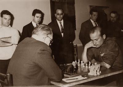 Partida Casas - Ribera del I Torneo Nacional de Ajedrez de Granollers 1964 (3)