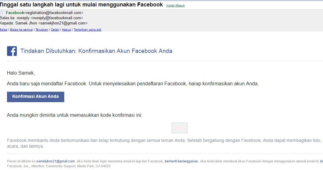 Daftar Facebook Baru   Cara Daftar FB Via Hp Android Dan