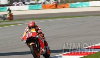Hasil MotoGP Malaysia: Marc Marquez Tercepat  FP4, Rossi P9