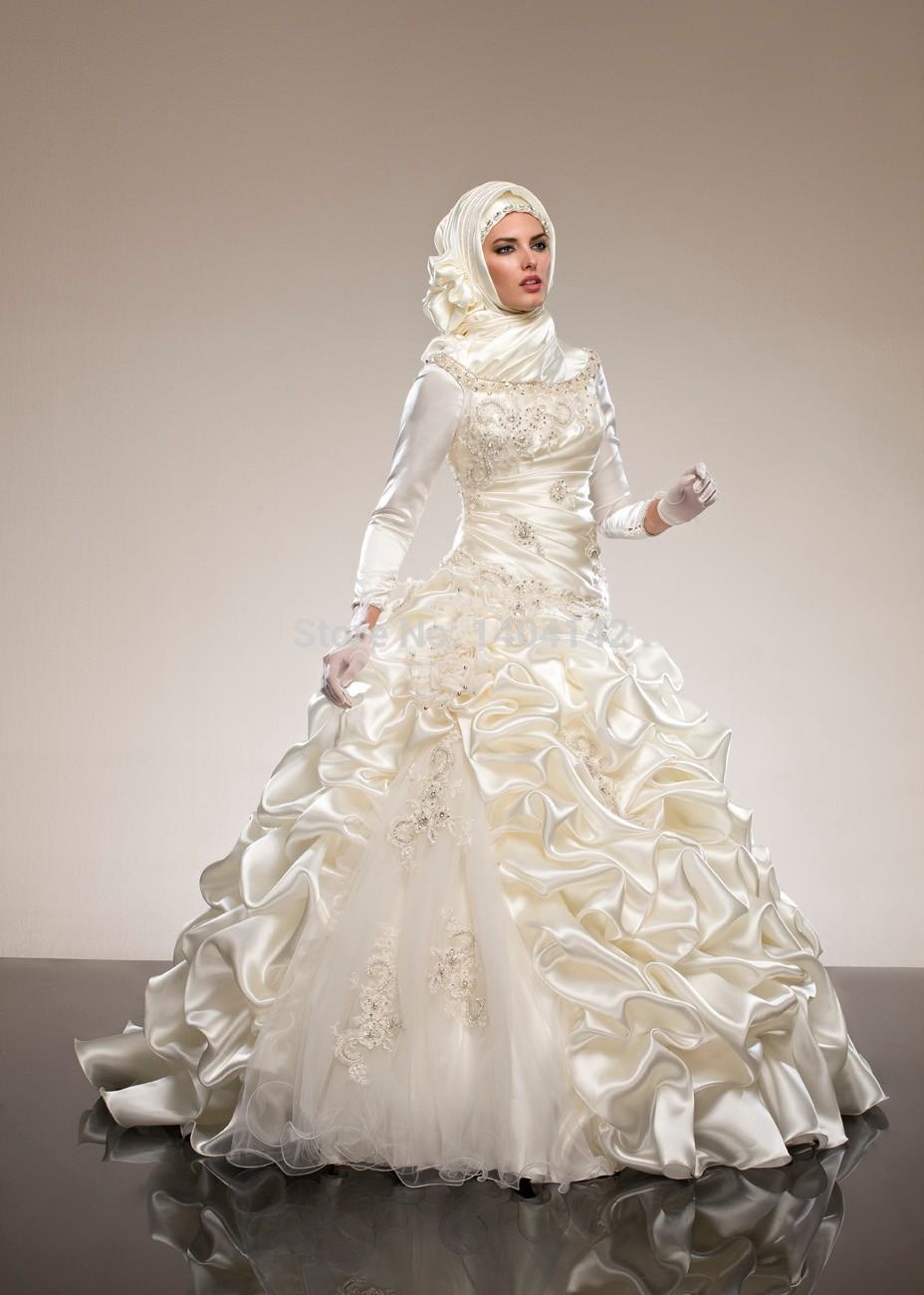 Hijab Wedding Dresses Wedding Dresses Cold Climates