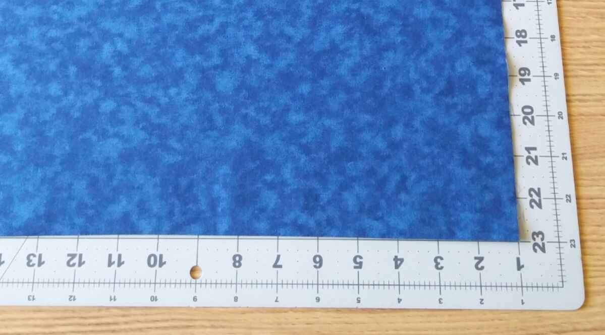how to cut a straight line on large fabric