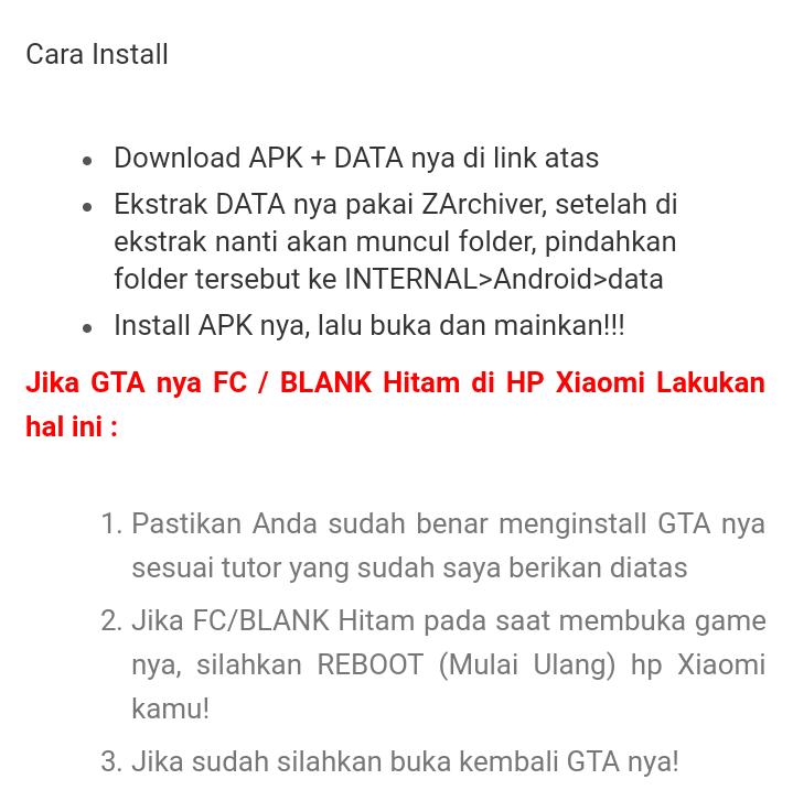 Hier sollte eine beschreibung angezeigt werden, diese seite lässt dies jedoch nicht zu. Download Gta Extreme Indonesia Android Lite Dan Full Version Infotechku