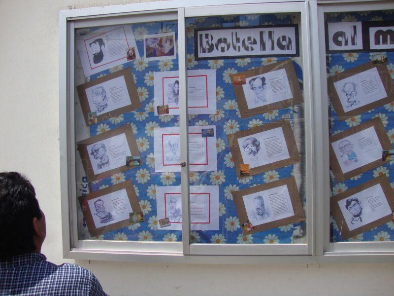 Medios gr ficos escolares el peri dico mural for El periodico mural y sus secciones