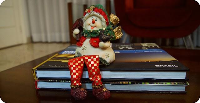 Decoração Natalina Enfeites de Natal Boneco de Neve