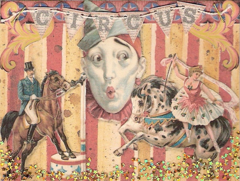 Vintage Circus Art 39
