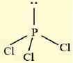 bentuk senyawa PCl3