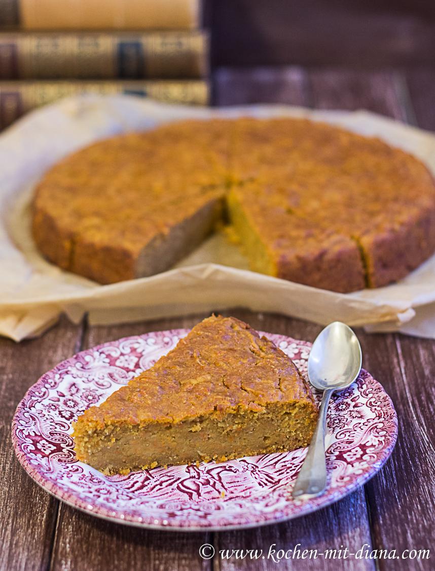 Apfel-Karotten Kuchen | Kochen mit Diana